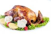 烤鸡 — 图库照片