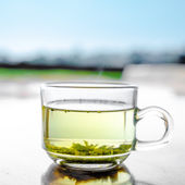 Tea in cup — Stock Photo