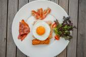 American style breakfast — Stock Photo