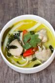 Curry de pollo verde — Foto de Stock