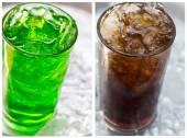 Kiwi soda — Stock Photo