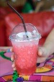 Soda fragola — Foto Stock