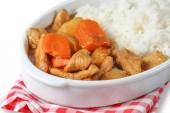 Curry de carne de cerdo — Foto de Stock