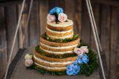 Wedding cake — Stock Photo