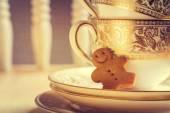 Homem-biscoito — Fotografia Stock
