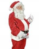 Santa Giving The Thumbs Up — Stock Photo