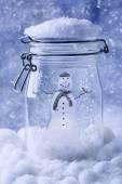 Snowmam  — Stock Photo