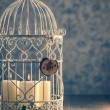 Birdcage Candles — Stock Photo #57932687