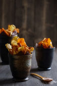Vegetable Crisps — Stock Photo