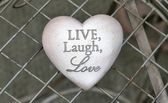 Live, Love, Laugh — Stockfoto