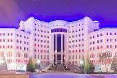 национальная библиотека республики таджикистан. душанбе, таджикистан — Стоковое фото