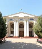 National Museum of Antiquities of Tajikistan. Dushanbe, Tajikist — Stock Photo