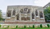 Stars poetry panels. Tajikistan, Dushanbe  — Zdjęcie stockowe