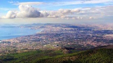 Naples top view — Stock Video