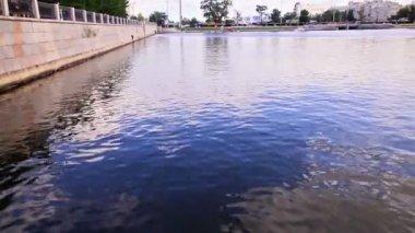 General plan waterfront — 图库视频影像