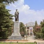 Постер, плакат: Rudaki monument Dushanbe Tajikistan