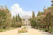 Tajik Agrarian University named after Sh Shotemur. Dushanbe, Taj — Stock Photo