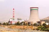 Combined heat and power Station - Dushanbe-2. Dushanbe, Tajikist — Foto de Stock