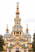 Holy Ascension Cathedral. Almaty, Kazakhstan — Stock Photo