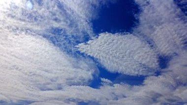 Blurred clouds in sky — Stock Video