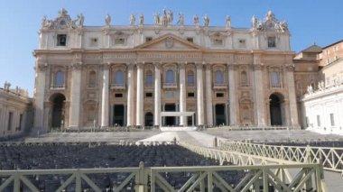 St. Peter's Basilica.  Rome — Stock Video