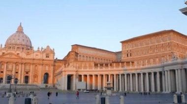St. Peter's Basilica,   Rome — Stockvideo