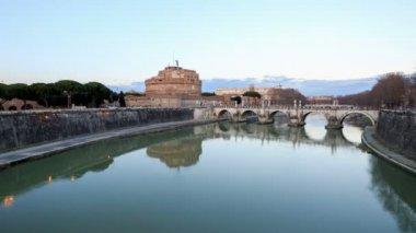 Castle of San Angelo, Rome — Stock Video