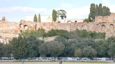 Palatine Hill, Rome, Italy — Stock Video