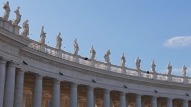 St. Peter's Basilica. Rome, Italy — Stock Video