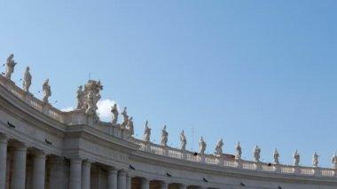St. Peter's Basilica. Vatican City, Rome — Stock Video