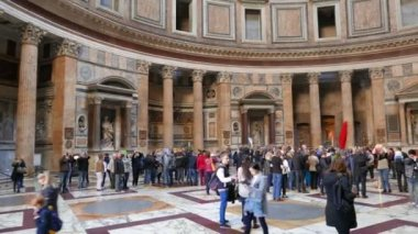 Pantheon, Roma, Italia — Video Stock