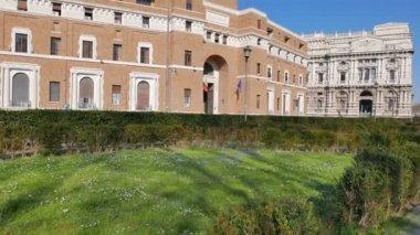Tribunale di Sorveglianza. Rome, Italy — Stock Video