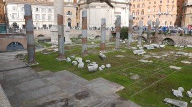 Fóra Traiano, Roma, Itálie — Stock video