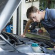 Mechanic checking car — Stock Photo #51827479
