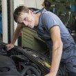 Mechanic repairing a car — Stock Photo #51827481