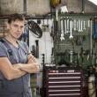 Mechanic in a workshop — Stock Photo #51827491