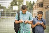 Smartphone addiction — Stock Photo