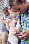 Smartphone generation — Stock Photo