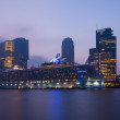 Постер, плакат: Oasis of the seas in Rotterdam