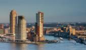 Rotterdam skyline from Euromast — Foto Stock