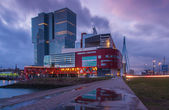 Rotterdam reflections — Stock Photo