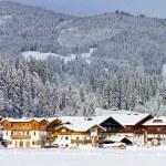 Ski Hotel Alps — Stock Photo #71404591