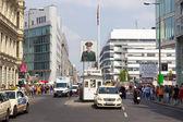 Berlin Checkpoint Charlie — Stock Photo