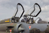 Mirage 2000 cockpit — Stock Photo