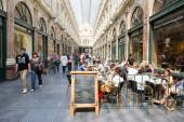 Brussels Royal Galleries — Stock Photo