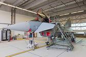 Eurofighter fighter jet — Stock Photo