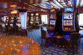 Cruise ship casino — Stock Photo