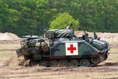 Army armoured personnel carrier — Stock Photo