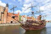 Gdansk - polónia — Fotografia Stock