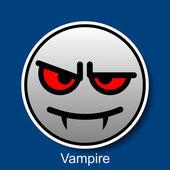 笑脸吸血鬼 — 图库矢量图片